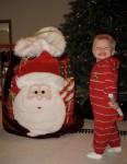 Highlight for Album: CLICK TO OPEN Collin's Christmas 2008 Adventures!