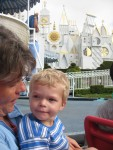 Highlight for Album: CLICK TO OPEN Collin goes to Disneyland!
