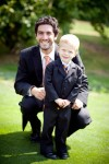 Highlight for Album: CLICK TO SEE Collin the Ringbearer at Kimberly and Brian's wedding!