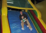 At Bounce Town for Owen's Birthday