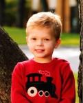 Collin's first preschool photo!