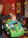 During my first haircut