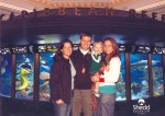 We went to the aquarium with Aunt Bonnie!